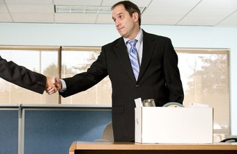 Shake hands and say goodbyes to colleagues as you gather your belongings.