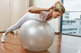 Consistent time on the Swiss Ball can lead to a toned tummy.