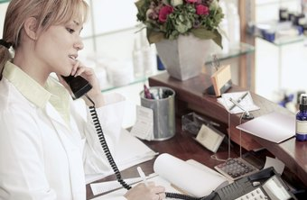 Receptionists must be friendly in person and on the phone.