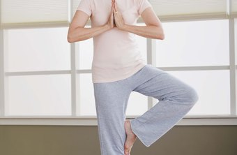 Stretch your piriformis while enjoying the challenge of Tree pose.