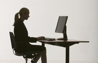 The proper computer desk height can reduce stress on the arms, neck and back.