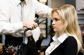 Many beauticians specialize in the styling of hair.