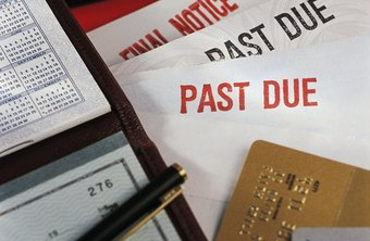 Late bill payment can lead to credit problems.