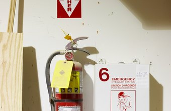Inspect fire extinguishers regularly.
