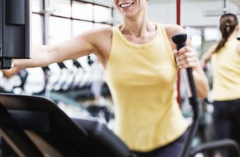 Try different elliptical machine programs to add variety to your workouts.
