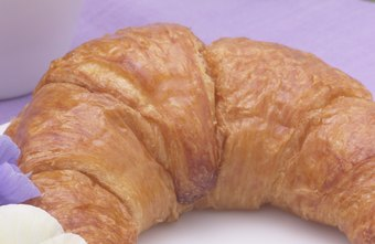 Croissants are an essential offering in French patisseries.