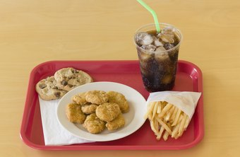 Modern school cafeterias focus on fresh and nutritious meals.