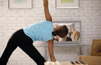 Try an aerobics exercise video at home.