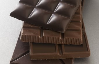 The calories and added sugar in chocolate can cause weight gain.