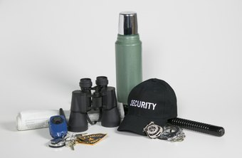 Security officers use a wide range of equipment to perform their duties.