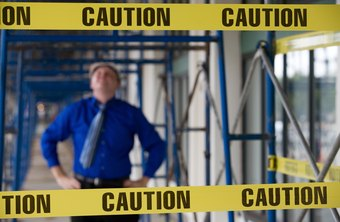 Safety managers in a construction company ensure safety measures are followed strictly at the site.