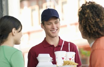 Fast food restaurants with a great organizational structure have happy customers.