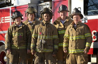 The desire to be a part of a team is one reason many become firefighters.