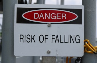 Danger signs require red, black and white colors, according to OSHA.