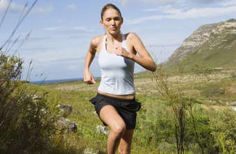 Jogging can help reduce body fat when paired with a sensible diet.