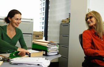Administrative assistants handle various levels of office duties.