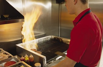Fire is a tool and a risk in a restaurant kitchen.
