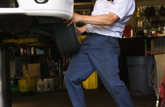 Tire technicians learn to replace tires quickly and safely.
