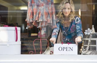 Find out about market conditions before opening a retail store.