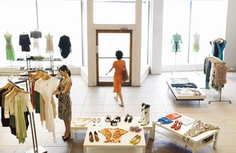 Visual merchandising is a key component to clothing sales.
