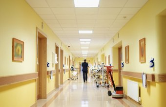 Sanitation is especially important for hospitals.