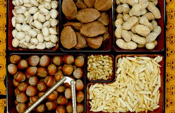 Tree nuts are high in healthy, unsaturated fat.