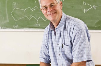 Teachers in chemistry and other advanced topics often come to teaching as a second career.