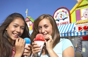 A shaved ice stand can lead to smiling faces from customers -- and profits for you.