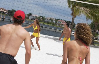 Volleyball helps you burn calories to build a fitter body.