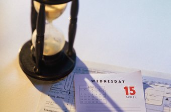 Time is important in filing a 1099 or an alternate tax form.