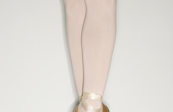 Center-work can be done en pointe, in shoes such as these.
