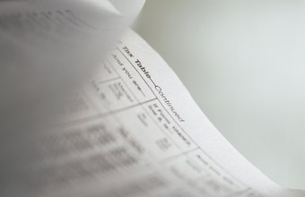 Businesses must report their income and expenses using federal tax forms.