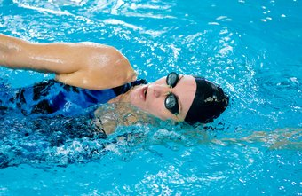 A swimming workout helps you burn calories quickly.
