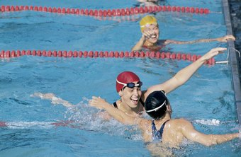 Some competitive swimmers are motivated by success.