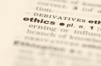 Ethics are codified into operating rules and procedures.