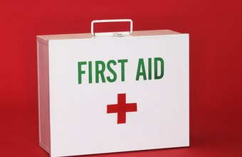 Have a first aid kit on hand to comply with OSHA regulations.