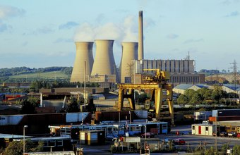 Power plants use a variety of equipment to function, designed by power plant engineers.
