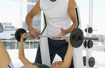 A spotter can help you lift those difficult last few reps.