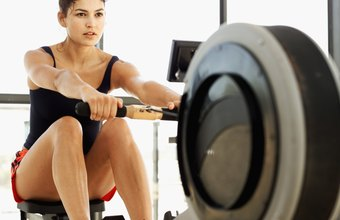 Rowing exercises involve multiple joints.