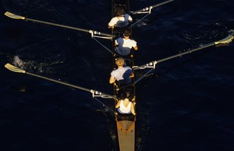 Rowers involve most of their body in each rowing stroke.