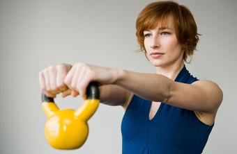 Kettlebell swings provide an excellent butt exercise.