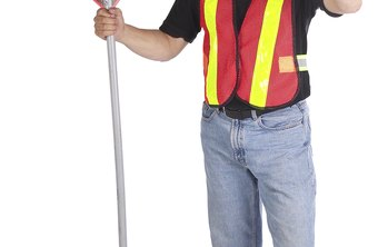 OSHA requires flaggers wear a vest that meets federal standards.