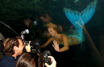Working as a mermaid is an unusual career some people enjoy immensely.
