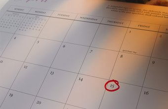 A printed calendar is often preferred over a digital one.