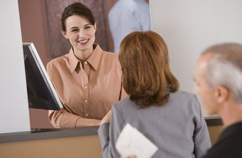 Customer satisfaction is a common priority for a bank teller.