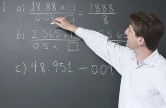 A high school math teacher might teach algebra, trigonometry or calculus.