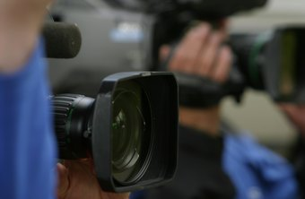 Television camera operators may be called on to record breaking news.