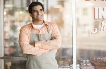 Sole proprietors often work long hours, opening and closing their own business.