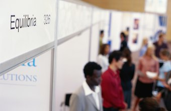 Trade shows are a common venue for channel marketing.