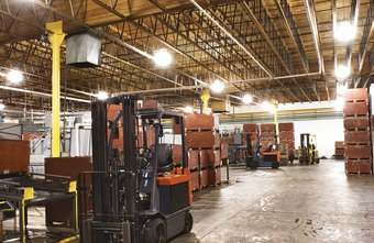 Large spaces, such as warehouses, benefit from mutiple wireless routers.
